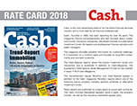 Rate Card Cash 2018 in Mediadaten