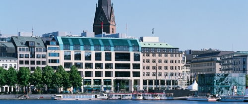 Unternehmenssitz EuropaPassage1 in