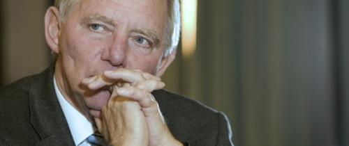 Bundesfinanzminister Dr. Wolfgang Schäuble