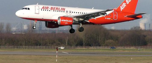 Air Berlin Airbus A319 in
