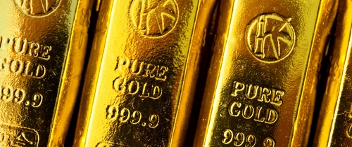 Goldbarren1 in UBS-Research erwartet Goldpreis von 1.500 US-Dollar
