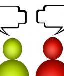 Kommunikation-getrennt-127x150 in Studie: Vertriebschefs und Mitarbeiter reden aneinander vorbei