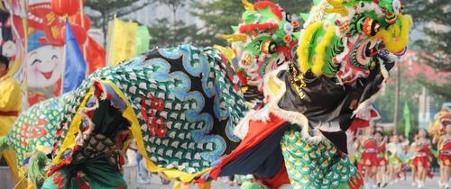China-drachen-parade in Investmentbarometer: Deutsche tanzen international nicht mit