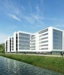 So soll das Objekt nach der für Sommer 2011 geplanten Fertigstellung aussehen.