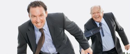 Unternehmensnachfolge in Stabübergabe: Wenn der Junior vom Senior übernimmt