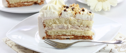 Kuchenst Ck-kuchen in Vertreter bekommen das größte Stück vom Vertriebskuchen