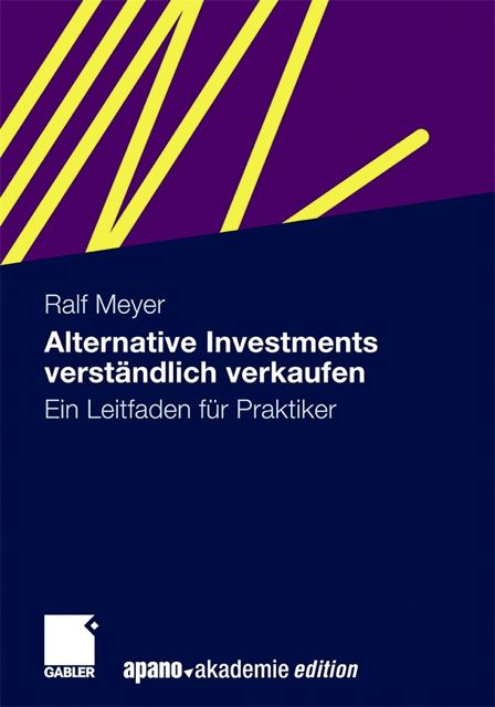 Alternative-Investments-Cover in Berater: Büchertipps für den Vertriebsalltag