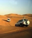 Desert car trip