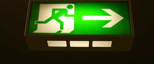 Exit-flucht-topteaser-notausgang in BVI-Absatzstatistik: Privatanleger fliehen aus Rentenfonds