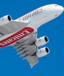 Auch die neue A 380 ist an Emirates verleast.
