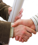 Handshake-vertrag-shutt 27636115-127x150 in Kautionsversicherung auch für Unternehmen