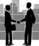 Geschaeftspartner Zusammenarbeit Kooperation