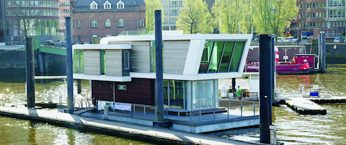 Hausboot-hafencity in Wohnimmobilien: Trend zur Offenheit