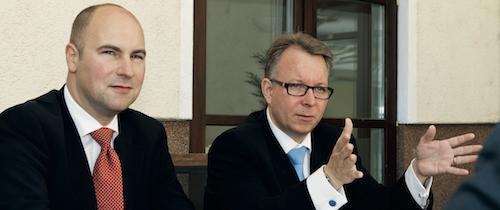 Oliver Lang und Frank Ulbricht im Cash.-Interview