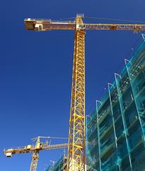 Baustelle-shutt 10265698 in Stimmung der Projektentwickler trotz einiger Hürden gut