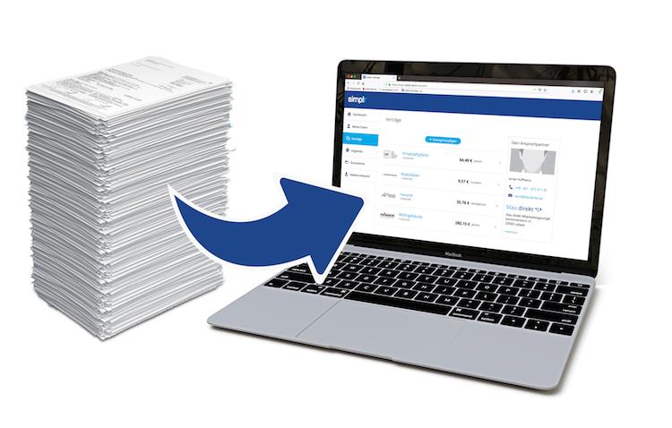 Advertorial V2 in Sparen durch vollautomatische Daten- & Dokumentenverarbeitung