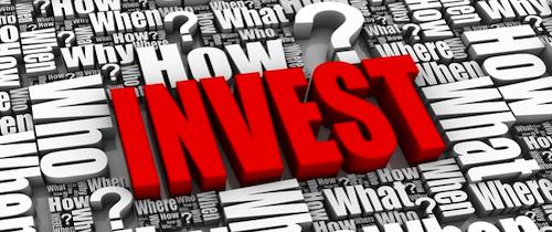 Invest-Fragezeichen in Wenig Wissen bei Geldanlage und Finanzen