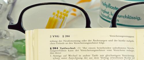 Paragraf 204 VVG ermöglicht Wechsel in günstigeren Tarif