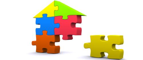 Haus-Puzzle in Indirekte Anlagen: Für jeden das Passende