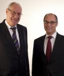 Uwe Pempel und Andreas Vogler vom Emissionshaus geschlossener Immobilienfonds Kristensen Invest