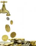 Geld-wasserhahn-shutt 31222954-118x150 in Deka-Fonds verzeichnen 25 Prozent mehr Zuflüsse