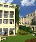 Animation des Potsdamer Nikolaiviertels nach Fertigstellung des Bauvorhaben