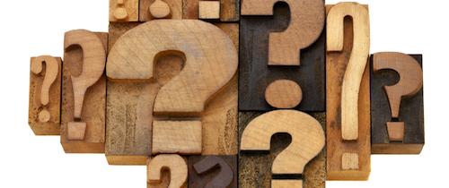 Fragezeichen-umfrage in Exklusiv-Umfrage: Zukunft der Maklerpools