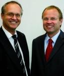 Die Asuco-Geschäftsführer Dietmar Schloz und Hans-Georg Acker (v.li.)
