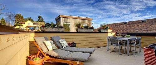 Mieten Für Wohnungen Mit Dachterrasse Fast Ein Drittel Teurer