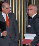 Johannes Sczepan, Plansecur, und Dr. Walter Botermann, Alte Leipziger-Hallesche