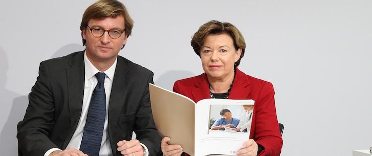 Dr. Uwe Schröder-Wislberg, MLP und Professor Dr. Renate Köcher