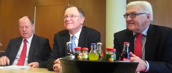Mietpreisbremse-SPD-Steinbrueck-Weil-Steinmeier in Verbände geißeln SPD-Vorschläge zur Mietpreisbremse