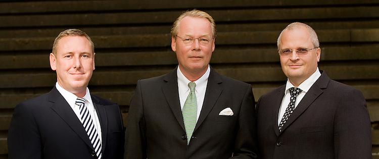 Vorstände Markus Herzinger, Michael-Keilholz und Volkmar Kübler, Vermögensverbund e.G.