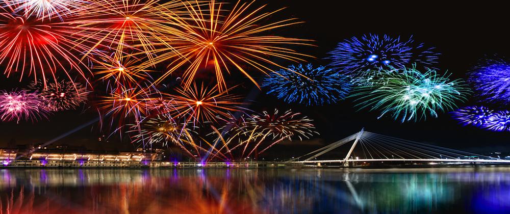 Feuerwerk-tt in Börsen-Feuerwerk geht weiter