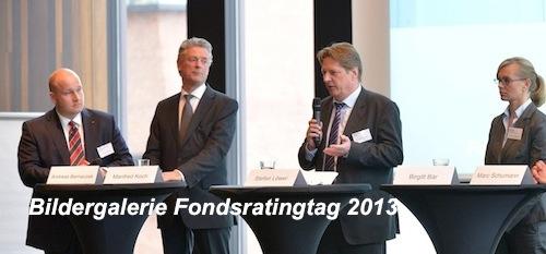 Fondsratingtag-Bildergalerie in Fondsrating-Tag: Von Perspektiven, Potenzial und Problemen