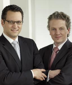 Aragon-Vorstände Sebastian Grabmaier und Ralph Konrad erwarten ein profitables Jahr 2013.