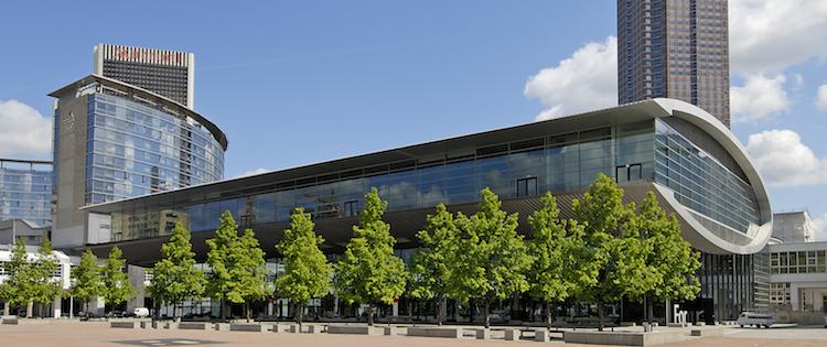 Der neue Veranstaltungsort der Pools & Finance: das Forum auf dem Frankfurter Messegelände