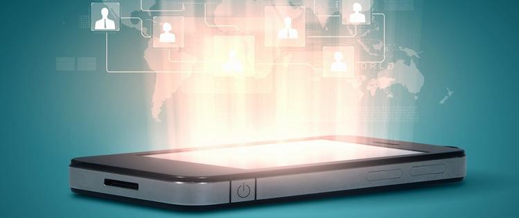Technologie-smartphone in Technologiesektor hat 2016 großes Wachstumspotenzial