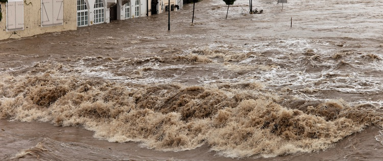 Münchener Rück: Hochwasser ist teuerste Naturkatastrophe 2013