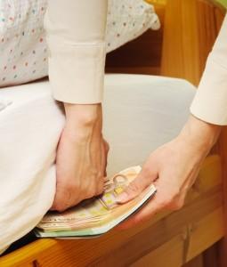 Sparer lagern Geld zuhause