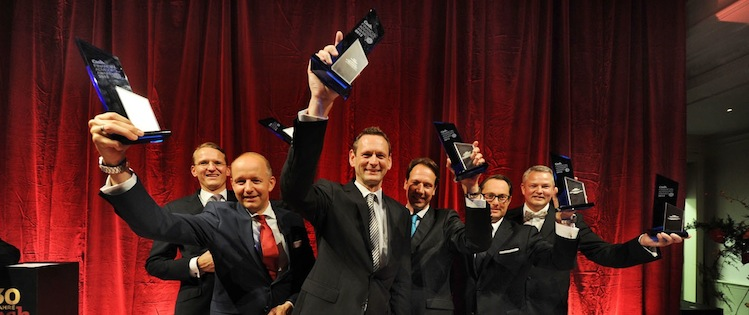 Gala-gewinner in Financial Advisors Awards 2013 verliehen