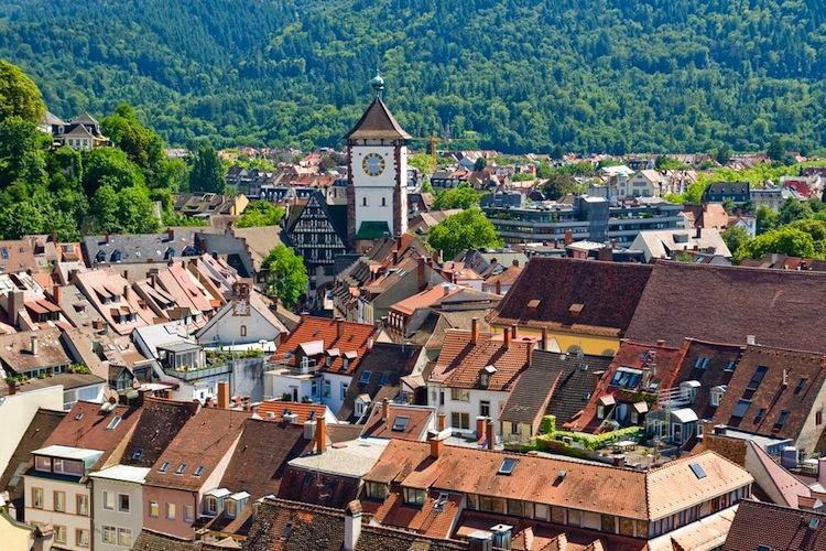 Freiburg in Preisanstieg in Baden-Württemberg