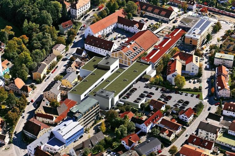 Visualisierung-Einkaufszentrum-E-EinZ-Ebersberg in ILG Fonds Nr. 39 platziert