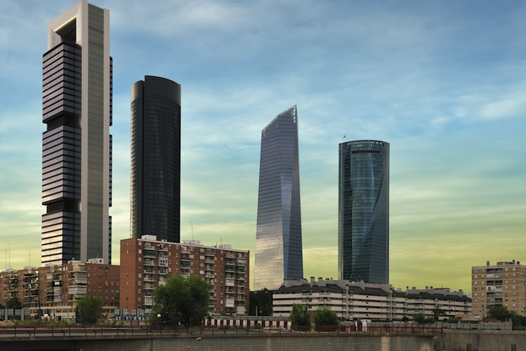 Cuatro-Torres-Madrid in Mainfirst geht nach Spanien