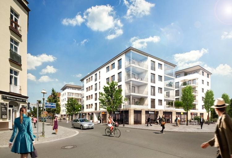 PROJECT-Immobilien CityCarre-Tegel in Project Immobilien realisiert Mischobjekt in Berlin-Tegel
