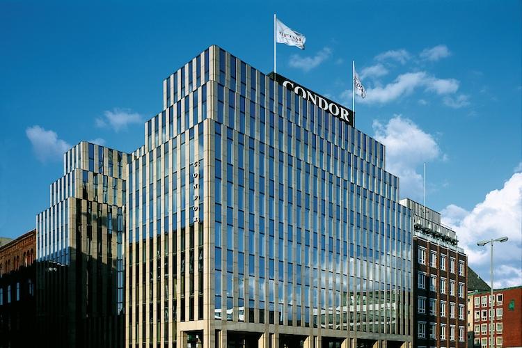 Condor Unternehmenssitz-in-Hamburg in Condor Leben justiert Überschussbeteiligungen neu