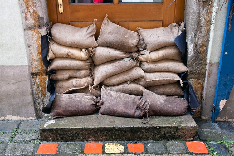 Hochwasser in Ergo bringt Hochwasserpolice
