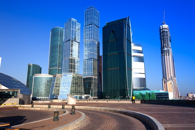 Moskau-Business-District in GAM: Wer hat Angst vor russischen Aktien?