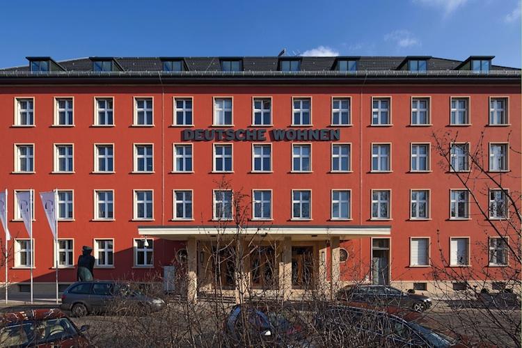 Hauptniederlassung Deutsche-Wohnen in Vonovia will Deutsche Wohnen übernehmen