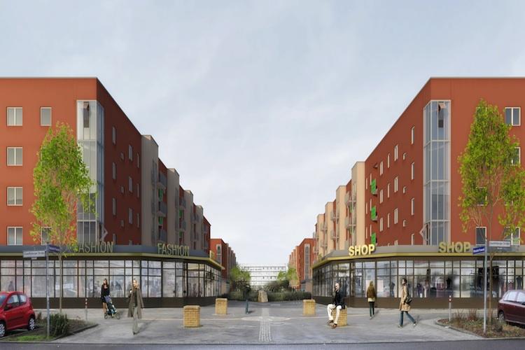 Hellersdorfer-Promenade Deutsche-Wohnen in Berlin: Deutsche Wohnen investiert in Hellersdorfer Promenade